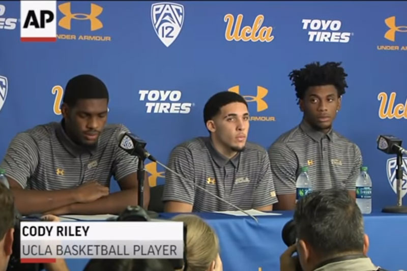 Failing an Ethical Dilemma - UCLA Players Apologize for Stealing